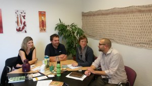 Gespräch mit Christoph Zenker und Ulrike Herold von der SPD_September 2014