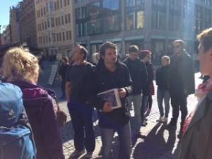 Interkultureller Stadtrundgang_2015 Marktplatz